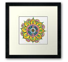 Mandala - Spring Framed Print
