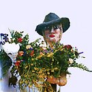 Woman with Black hat by Diane  Kramer