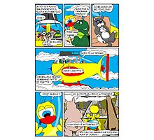 "Rick the chick  ""THE MAGIC SHELL parte 36"" Photographic Print"