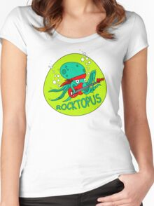 The Amazing RocktOpus Women's Fitted Scoop T-Shirt