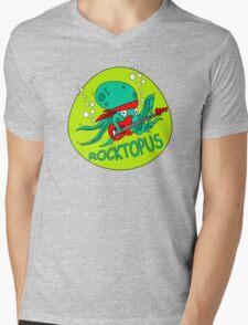 The Amazing RocktOpus Mens V-Neck T-Shirt