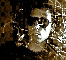 SMOKE AND MIRRORS - IPHONE by Scott  d'Almeida