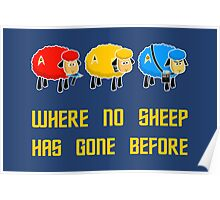Where no Sheep Has Gone Before Poster