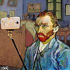 vincent van selfie by Loui  Jover