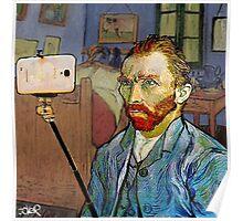 vincent van selfie Poster