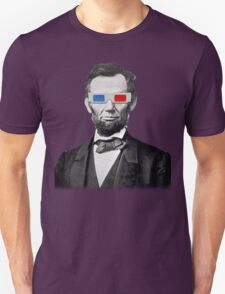 Abe in 3D T-Shirt