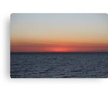 Ocean saying goodnight - BB0361 Canvas Print