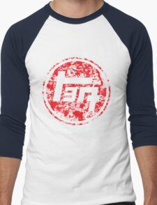Vintage Distressed Toyota Men's Baseball ¾ T-Shirt