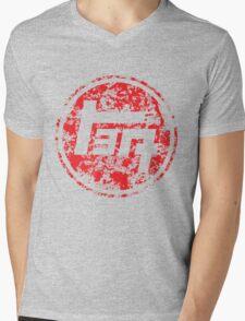 Vintage Distressed Toyota Mens V-Neck T-Shirt