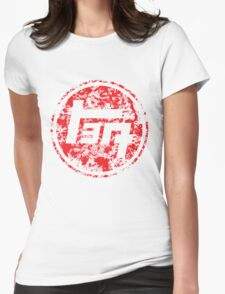 Vintage Distressed Toyota Womens Fitted T-Shirt