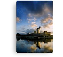 imperial war museum north.. Canvas Print