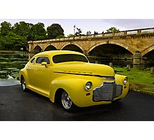 "1941 Chevrolet Custom ""The Yellow Submarine"" Photographic Print"