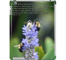 Let all those that put their trust in Thee rejoice iPad Case/Skin