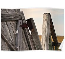 Old Wooden Dock Poster