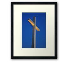 Morning Cross Framed Print