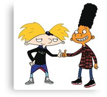 Hey Arnold Canvas Print