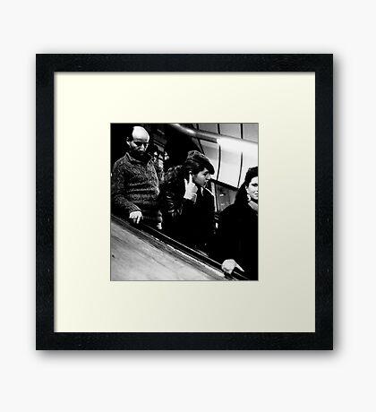 1985 - descent Framed Print