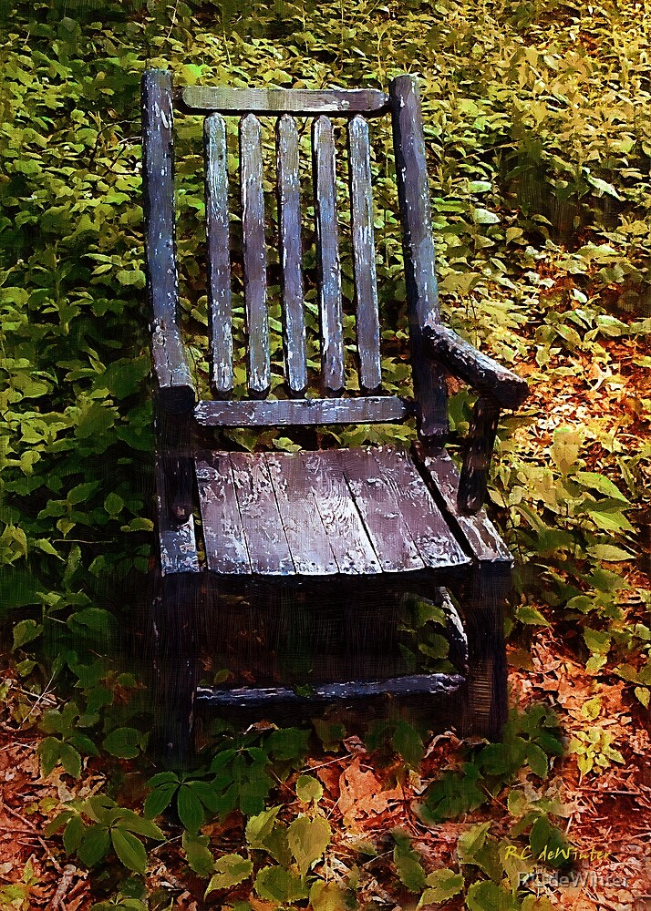 My Thinking Chair by RC deWinter