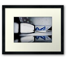 the note book Framed Print