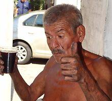 And after the work...a drink - Y despues del trabajo una bebida by Bernhard Matejka