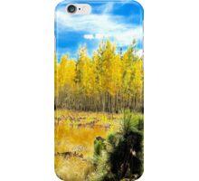 Blazing Trees iPhone Case/Skin
