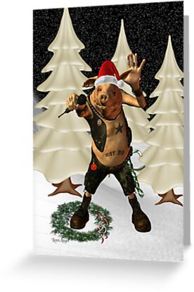Christmas Pork ?? .. fun fantasy by LoneAngel