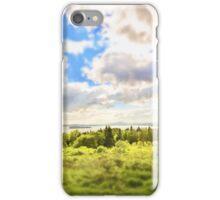 Sunny Lakeside Landscape iPhone Case/Skin