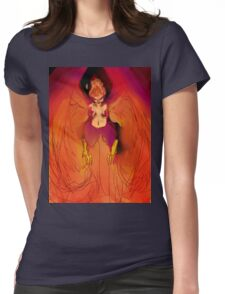 Blazing Zenith Womens Fitted T-Shirt