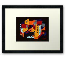 Townscape Framed Print