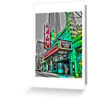 The Fabulous Fox Theater - Atlanta, Georgia Greeting Card