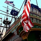 Three Masted Ship by artstoreroom