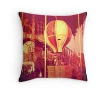 Ancient Carousel Throw Pillow