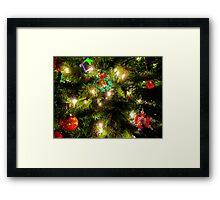 Simply Beautiful Christmas Tree Framed Print