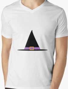 Witches Hat Mens V-Neck T-Shirt