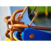 Golden Anchor  Photographic Print