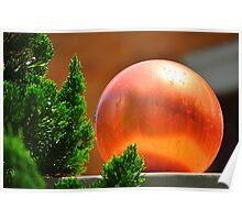 Orange Ball Poster