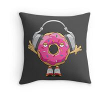 JDonuts Throw Pillow