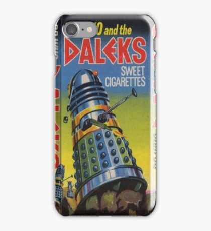 Dr Who and the Daleks iPhone Case/Skin