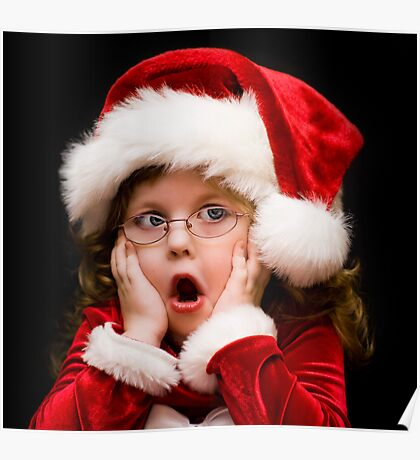 UH OH! Santa is that YOU! Poster