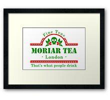 MoriarTea Christmas  Framed Print
