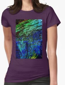 water weeds Womens Fitted T-Shirt