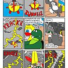 "Rick the chick  ""THE MAGIC SHELL (La tempesta) parte 37"" by CLAUDIO COSTA"