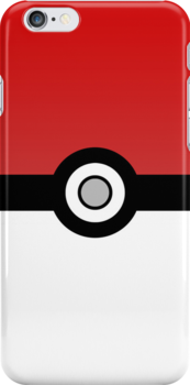 Pokéball i-Device Case by AndrewBerry