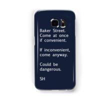 Sherlock Messages - 7 Samsung Galaxy Case/Skin