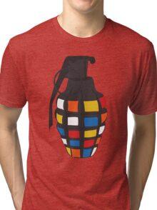 Rubik's Grenade Tri-blend T-Shirt
