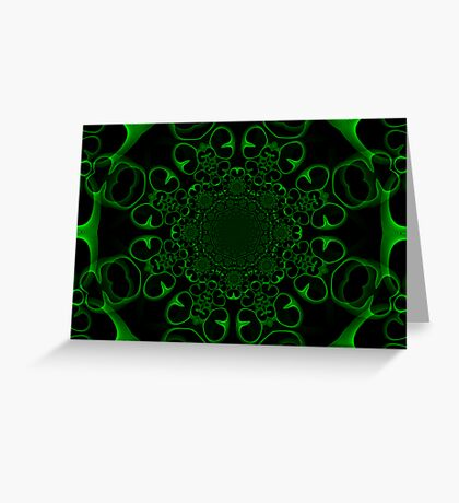 Emerald Fantasy Greeting Card