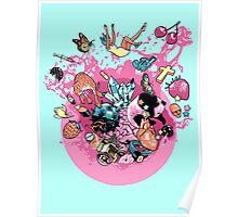 Exploding Gumball (Bubble Glum) Poster