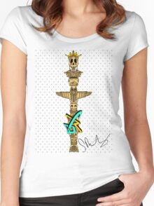 Toke 'Em Pole Women's Fitted Scoop T-Shirt
