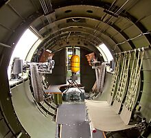 Waist guns of a B-17 Flying Fortress by bleriger
