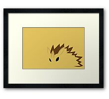 Sandslash Framed Print